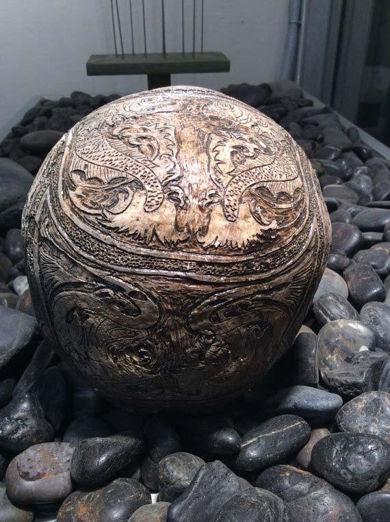 Replica Human Skull, Russian Sea Captain by Zane Wylie | Dark Fine